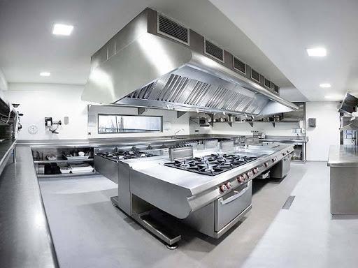 Setup nhà bếp theo kiểu ốc đảo