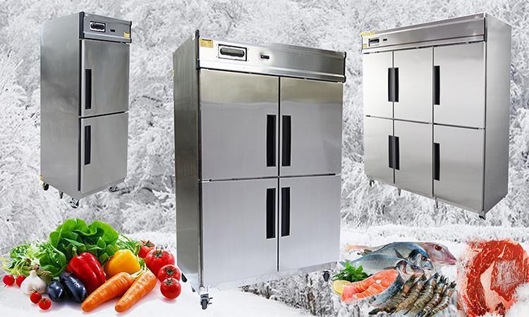 Tủ đông trong bếp công nghiệp