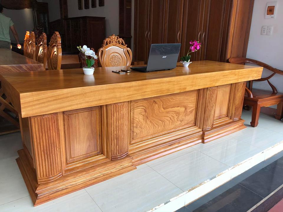 Đối với bàn ghế gỗ cần kiểm tra kĩ tỉ lệ nước trong sản phẩm