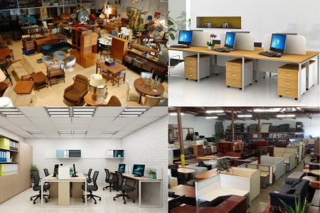 Nội thất văn phòng cũ - Giải pháp tối ưu ngân sách cho các Startup