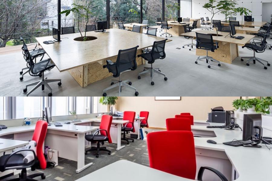 Một doanh nghiệp cần một số lượng đáng kể nội thất văn phòng