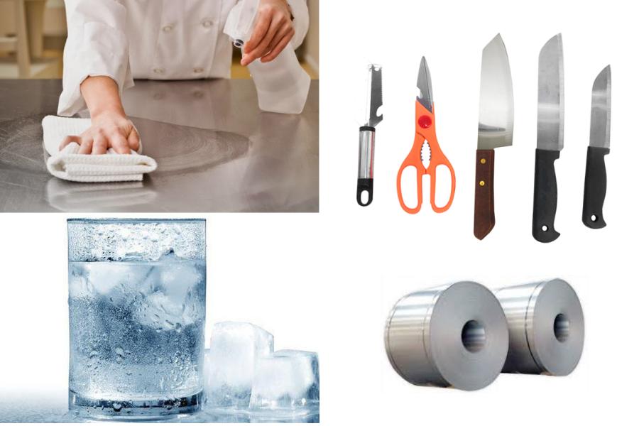 Cách sử dụng & vệ sinh các thiết bị bếp bằng Inox