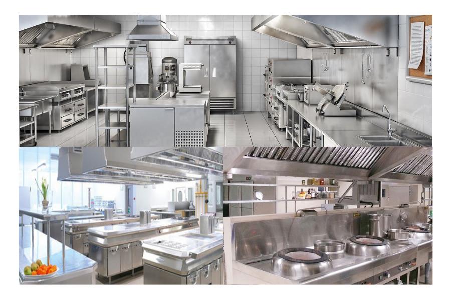 Bếp công nghiệp là một hệ thống bếp thường xuất hiện ở nhà hàng, khách sạn